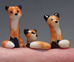micro miniature foxes
