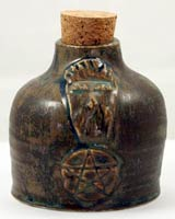witch protection bottle