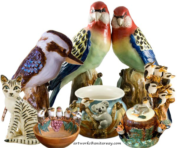 Australian pottery art - studio pottery sculpture