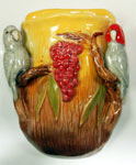 Gang-gang cockatoo wall pocket vase